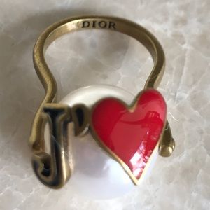 DIOR ring authentic Perl